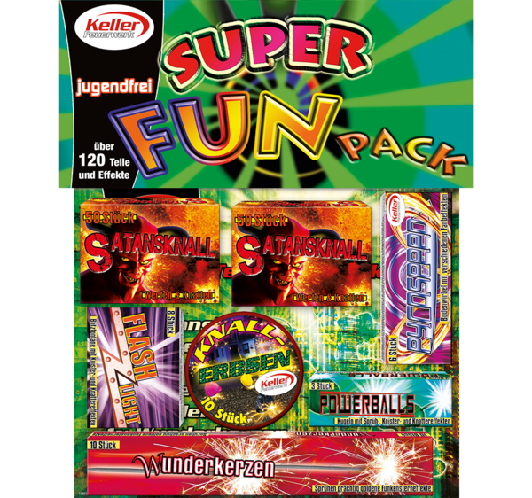 Super FUN Pack Sortiment Jugendfeuerwerk