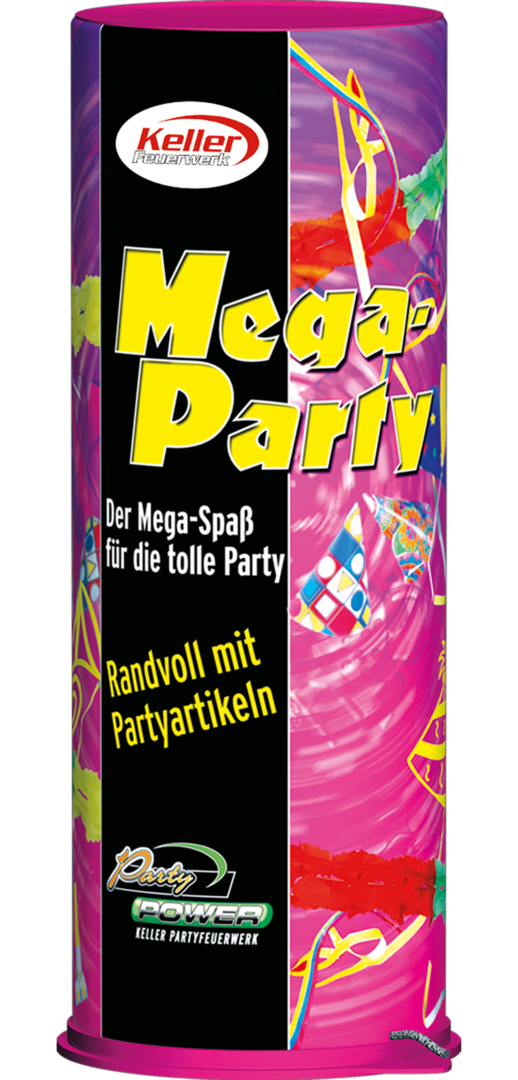 Riesentischbombe Mega Party